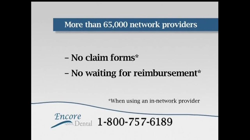 Encore Dental TV Spot For Dental Insurance - Screenshot 8