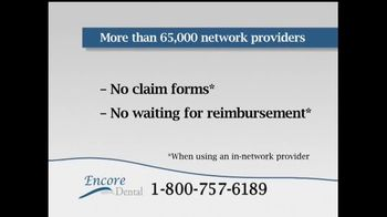 Encore Dental TV Spot For Dental Insurance - Thumbnail 8