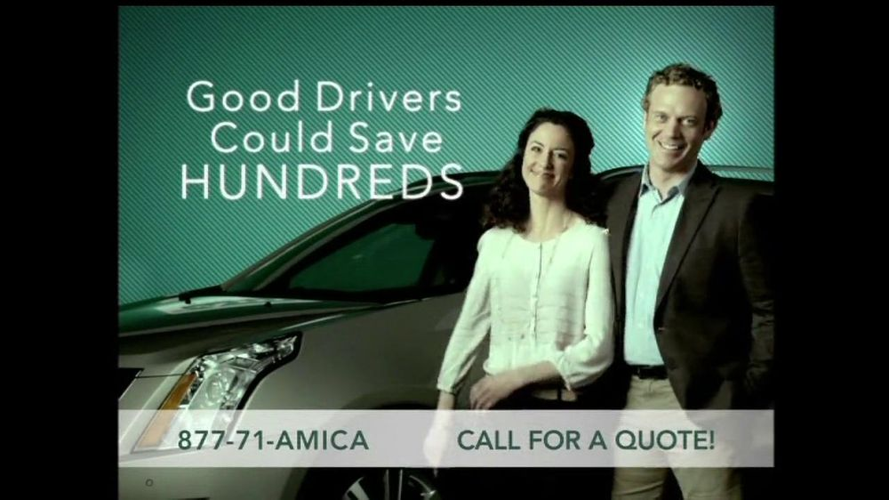 Amica insurance commercial actress for Is amica insurance good
