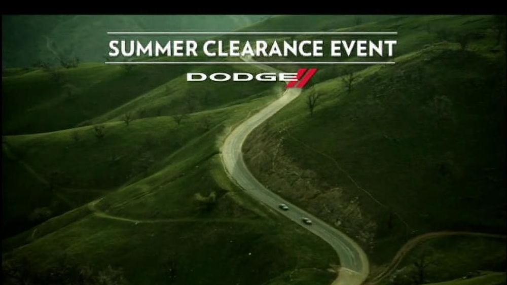 Dodge Challenger and Charger TV Spot, 'Summer Clearance Event' - Screenshot 1