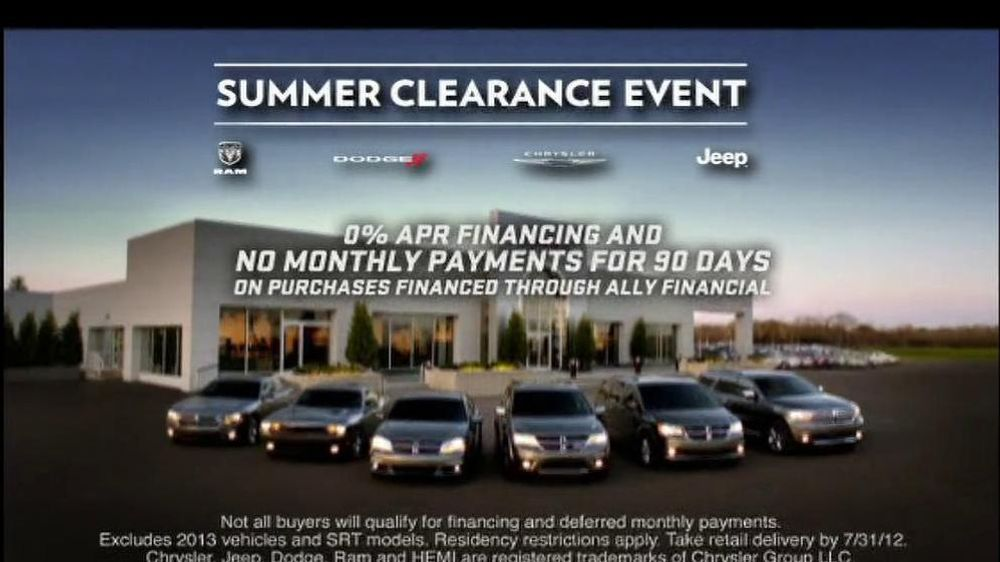 Dodge Challenger and Charger TV Spot, 'Summer Clearance Event' - Screenshot 8