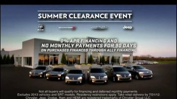 Dodge Challenger and Charger TV Spot, 'Summer Clearance Event' - Thumbnail 8