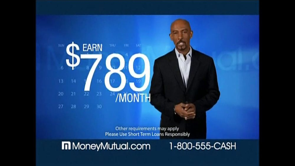 Money Mutual TV Commercial For Money Mutual Featuring Montel Williams