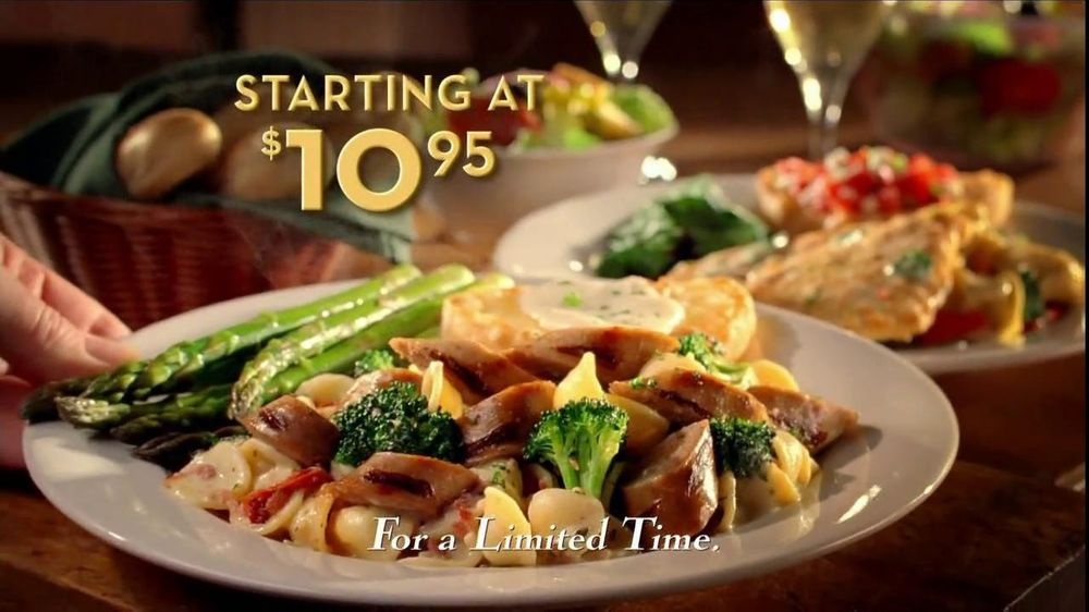 Olive garden tv commercial for taste of tuscany for Come on down to the olive garden