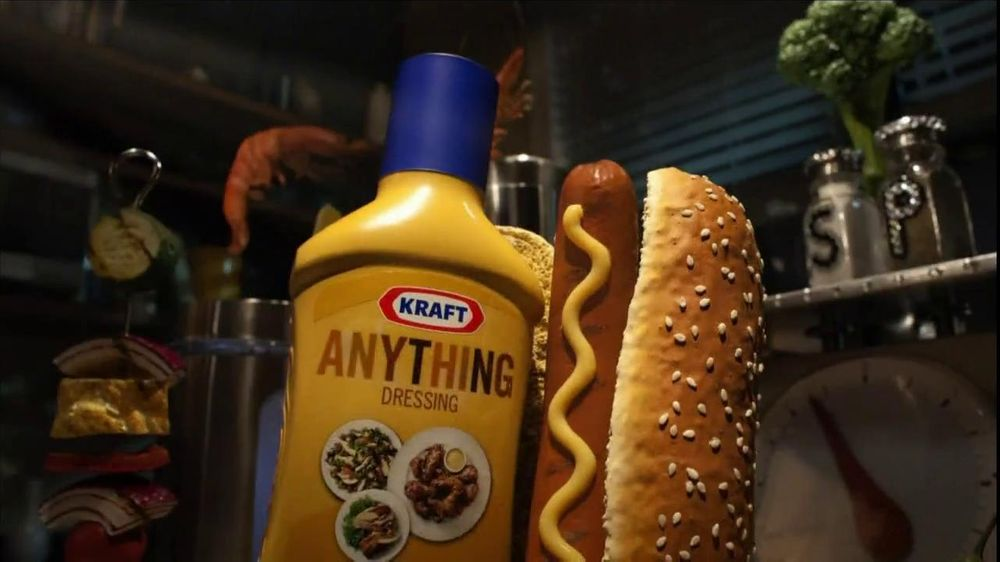 Kraft/Nabisco TV Spot For Anything Dressing - Screenshot 7