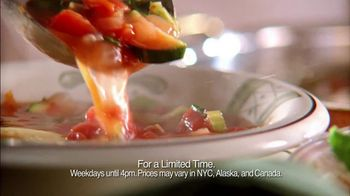 Olive Garden TV Spot For Unlimited Soup, Salad, And Breadsticks - Thumbnail 4