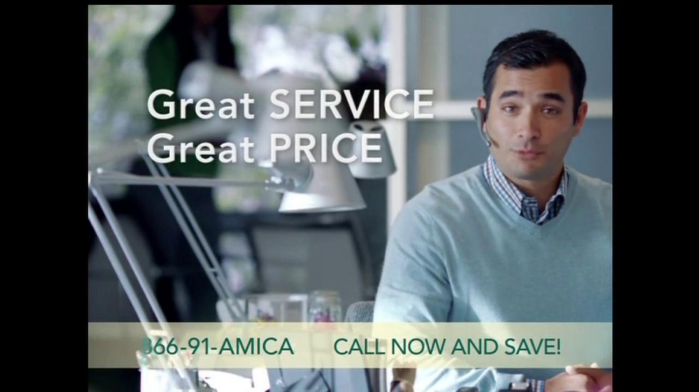amica mutual insurance company tv commercial for policyholders. Black Bedroom Furniture Sets. Home Design Ideas