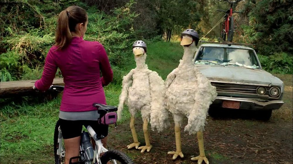 Foster Farms TV Spot For Biking Chickens - Screenshot 3