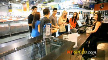 K1 Speed Indoor Cart Racing TV Spot