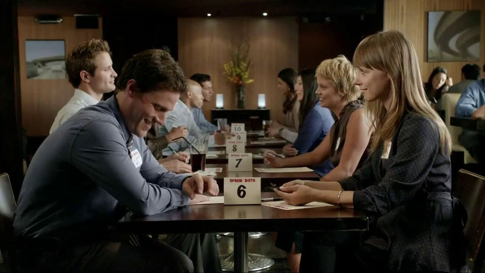 speed dating phone commercial