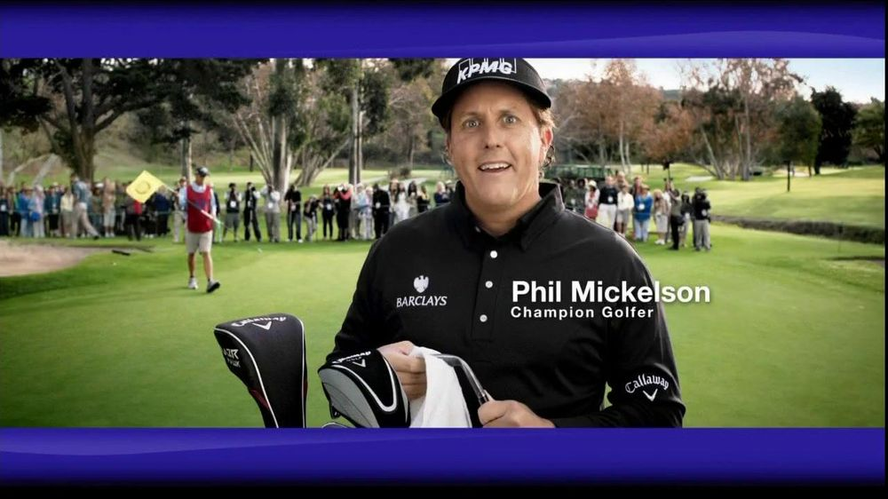 Enbrel TV Spot Featuring Phil Mickelson - Screenshot 1