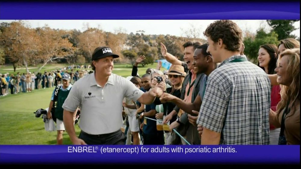 Enbrel TV Spot Featuring Phil Mickelson - Screenshot 3