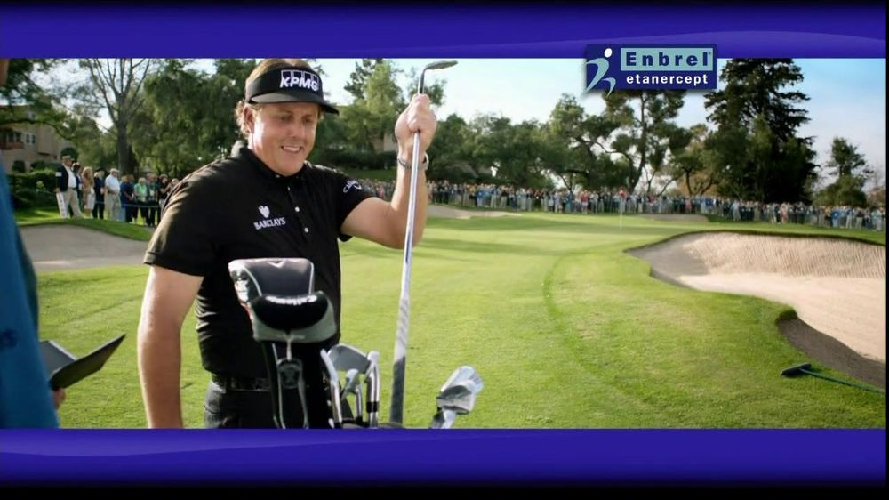 Enbrel TV Spot Featuring Phil Mickelson - Screenshot 6