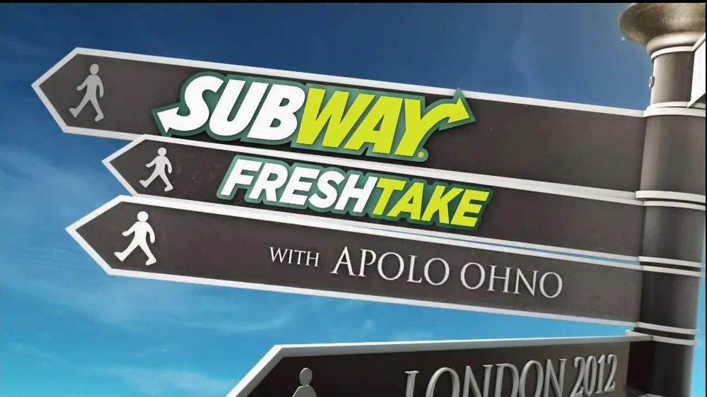 Subway TV Spot For FreshTake Featuring Apolo Ohno  - Screenshot 2