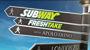 Subway TV Spot For FreshTake Featuring Apolo Ohno  - Thumbnail 2