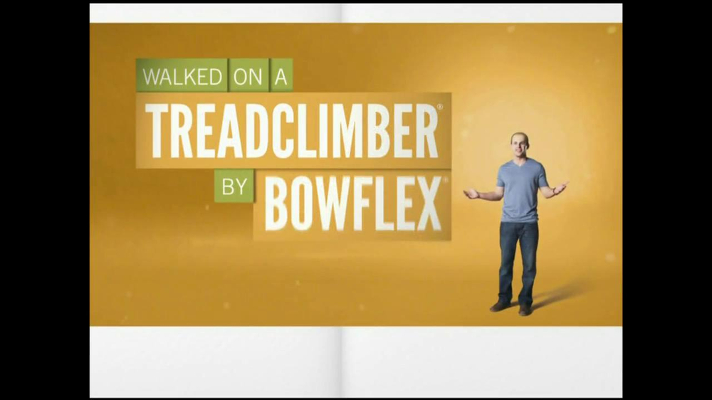 Bowflex TreadClimber TV Spot, 'Walked' - Screenshot 2