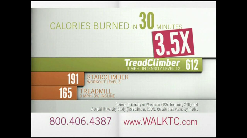 Bowflex TreadClimber TV Spot, 'Walked' - Screenshot 6