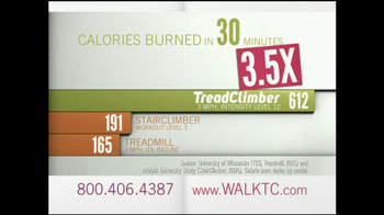 Bowflex TreadClimber TV Spot, 'Walked' - Thumbnail 6