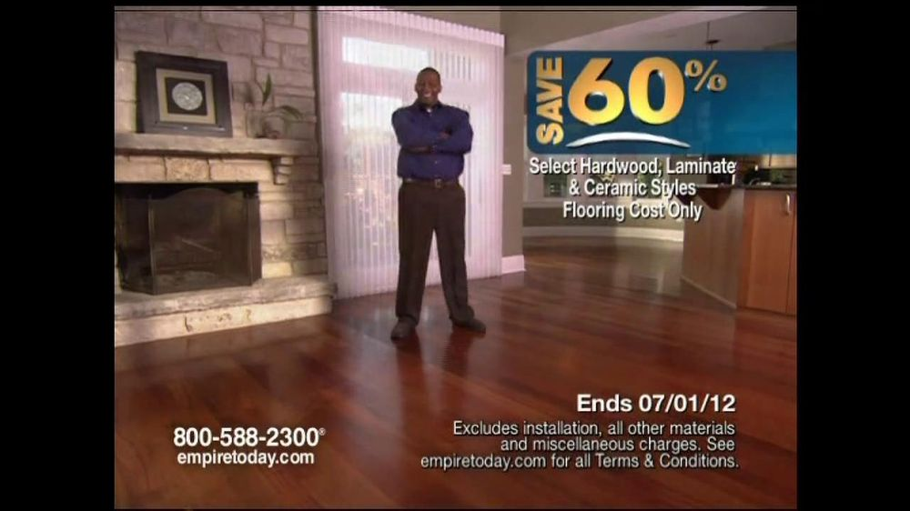 Empire Today Tv Commercial For 60 Sale On Flooring Ispot Tv