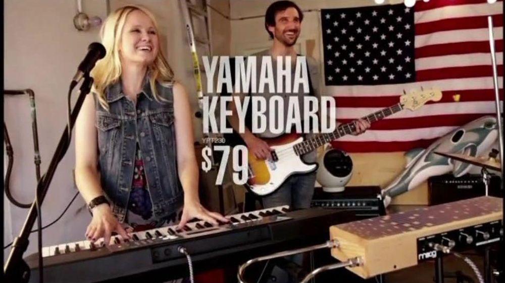 guitar center tv commercial for keyboards and drums. Black Bedroom Furniture Sets. Home Design Ideas