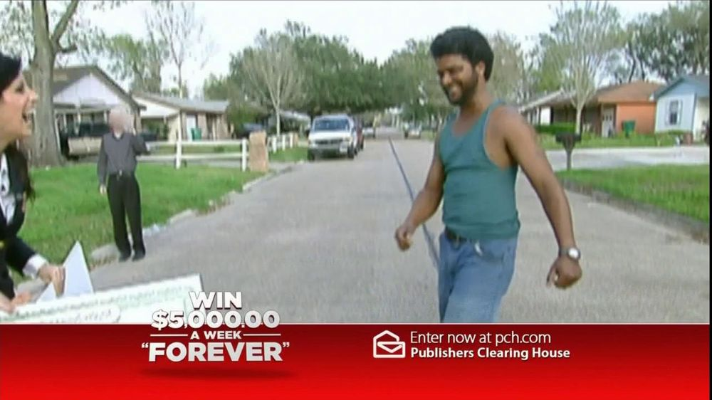 Publishers Clearinghouse TV Spot For $5,000 Forever Prize - Screenshot 1
