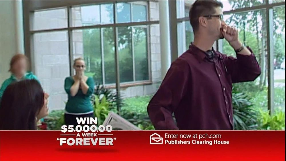 Publishers Clearinghouse TV Spot For $5,000 Forever Prize - Screenshot 3
