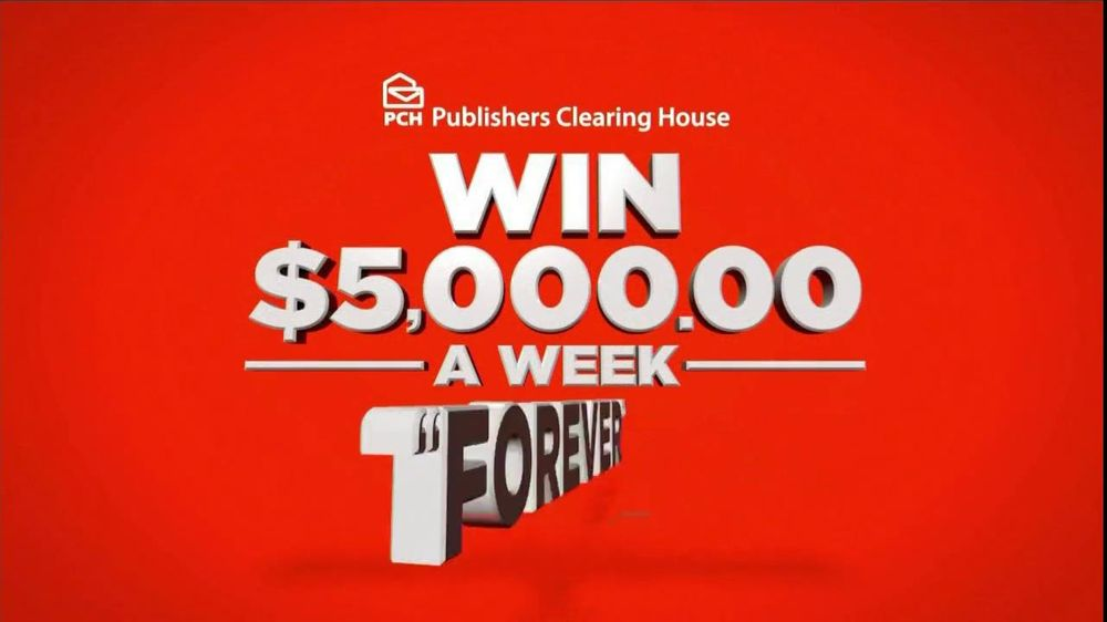 Publishers Clearinghouse TV Spot For $5,000 Forever Prize - Screenshot 5