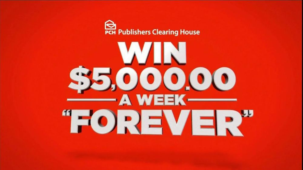 Publishers Clearinghouse TV Spot For $5,000 Forever Prize - Screenshot 6