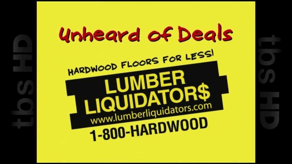 Lumber Liquidators TV Commercial For Laminate Flooring ...