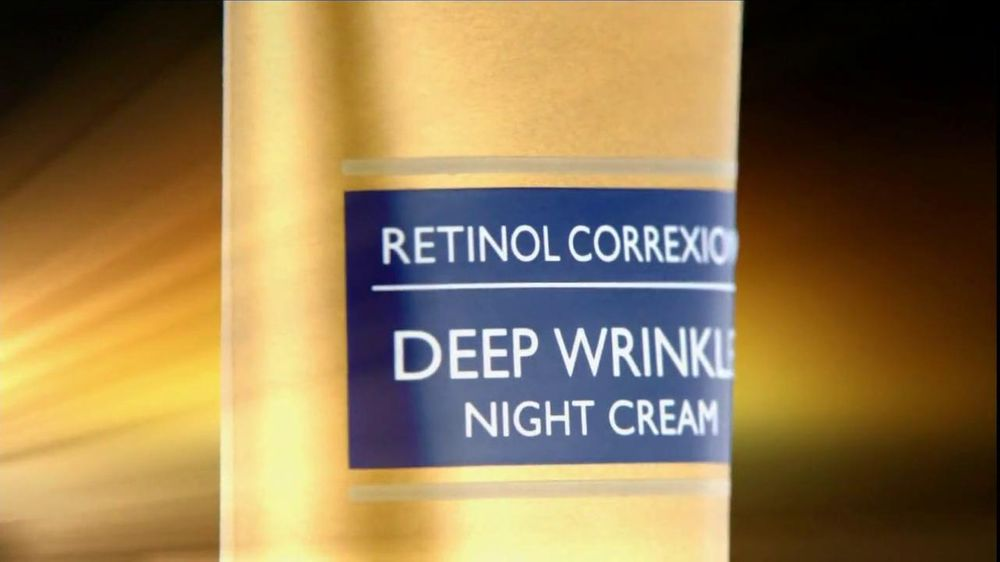 RoC Skin Care TV Spot For Retinol Correxion Deep Wrinkle Night Cream - Screenshot 3