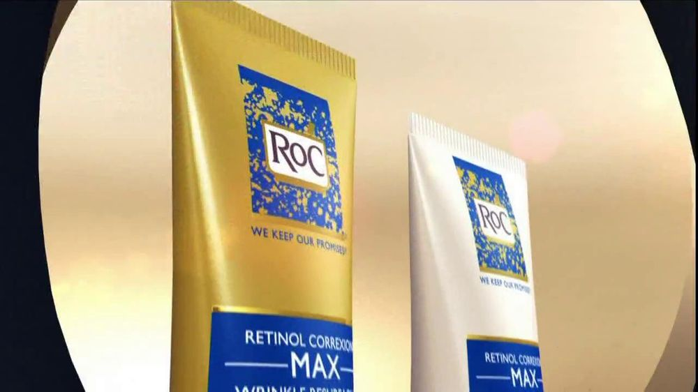 RoC Skin Care TV Spot For Retinol Correxion Deep Wrinkle Night Cream - Screenshot 5