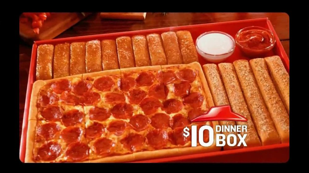 About Pizza Hut TV Commercial For $10 Dinner Box
