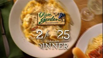 Olive Garden Tv Commercial For Two For 25