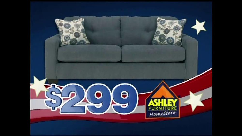 Ashley furniture homestore tv commercial for freedom to for Furniture 60 months no interest