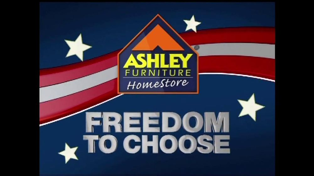 Ashley Furniture Homestore Tv Commercial For Freedom To
