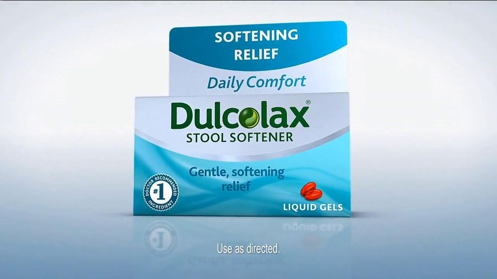 Dulcolax Tv Commercial For Dulcolax Stool Softener Ispot Tv