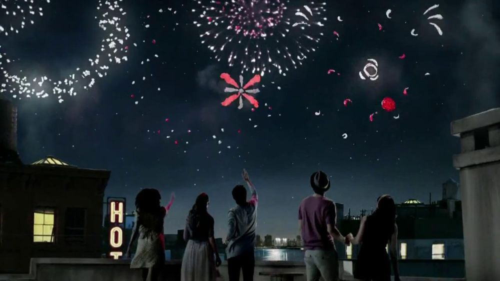 Dove Dark Chocolate TV Spot, 'Fireworks' - Screenshot 7
