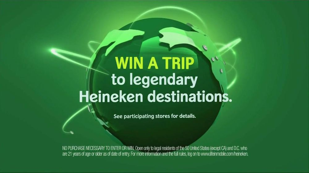 Heineken TV Spot For Cruiseship Heineken - Screenshot 8
