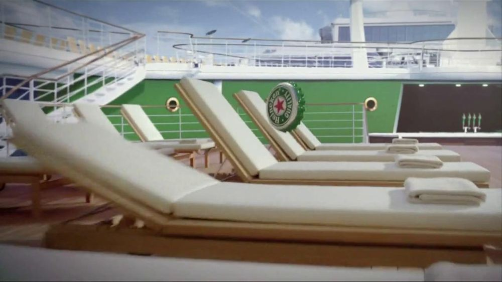 Heineken TV Spot For Cruiseship Heineken - Screenshot 4