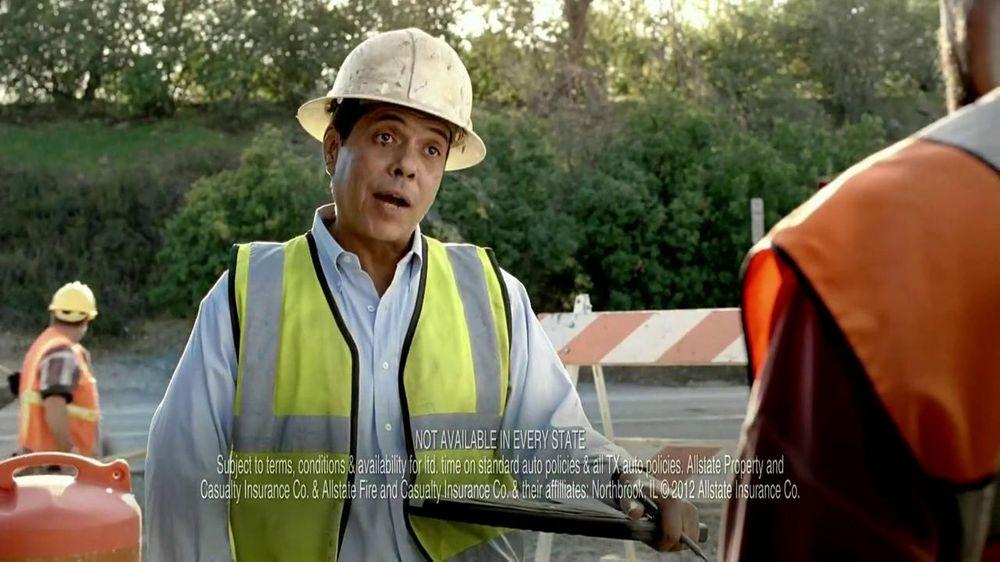 Allstate TV Commercial, 'Construction Guys Allstate Voice
