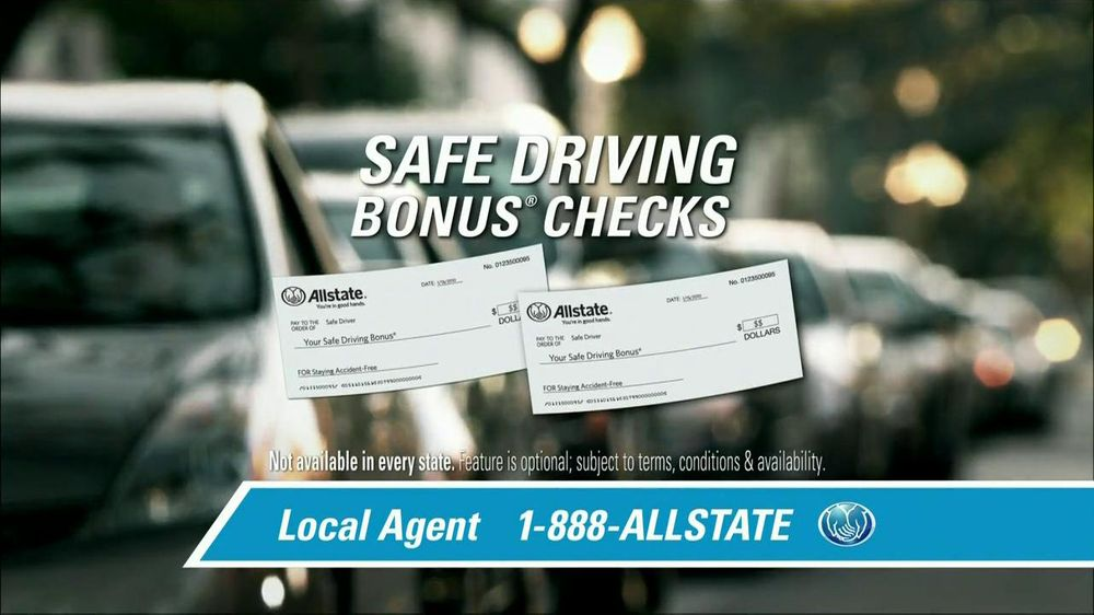 Allstate TV Spot For Safe Driving Bonus Checks - Screenshot 5