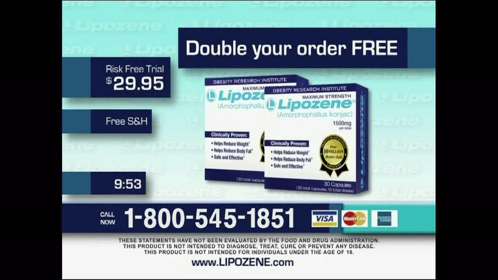 Lipozene TV Spot For Lose Weight Fast - Screenshot 4