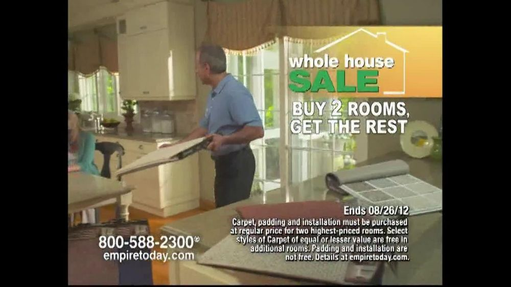 Empire Today TV Spot For Buy Two Rooms, Get House Free - Screenshot 4