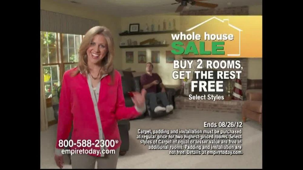 Empire Today TV Spot For Buy Two Rooms, Get House Free - Screenshot 5