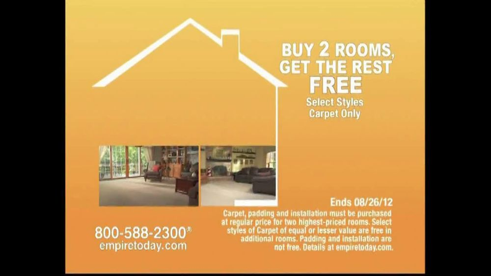 Empire Today TV Spot For Buy Two Rooms, Get House Free - Screenshot 8