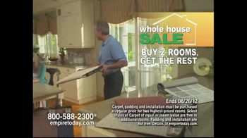 Empire Today TV Spot For Buy Two Rooms, Get House Free - Thumbnail 4