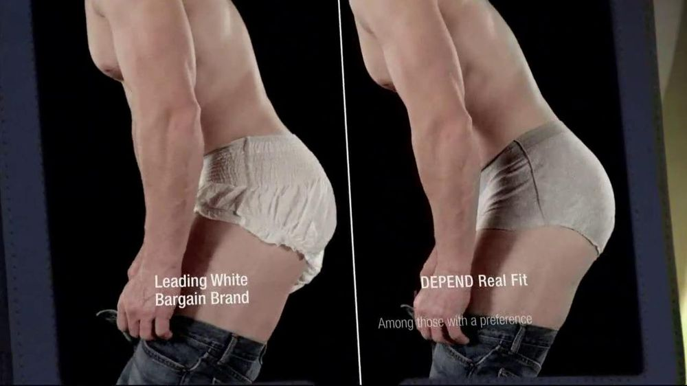 Depends TV Spot For Real Fit Featuring Pro Football Players - Screenshot 7