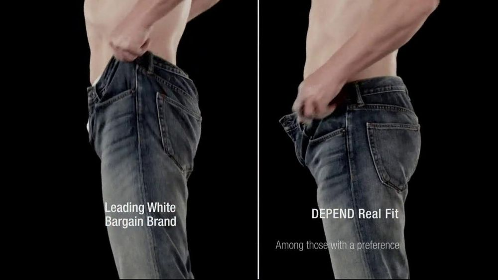 Depends TV Spot For Real Fit Featuring Pro Football Players - Screenshot 8