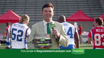 Depends TV Spot For Real Fit Featuring Pro Football Players - Thumbnail 9