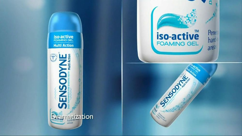 Sensodyne Iso-Active Multi-Action Toothpaste TV Spot, 'Gina' - Screenshot 5